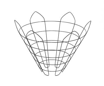wire tree baskets